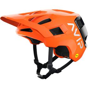 POC Kortal Race MIPS Helmet, fluorescent orange avip/uranium black matt